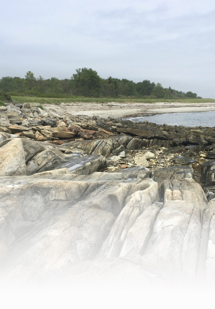 """Andrews Beach is a three-acre state park. The locals say on a dry day, the sand """"sings."""""""