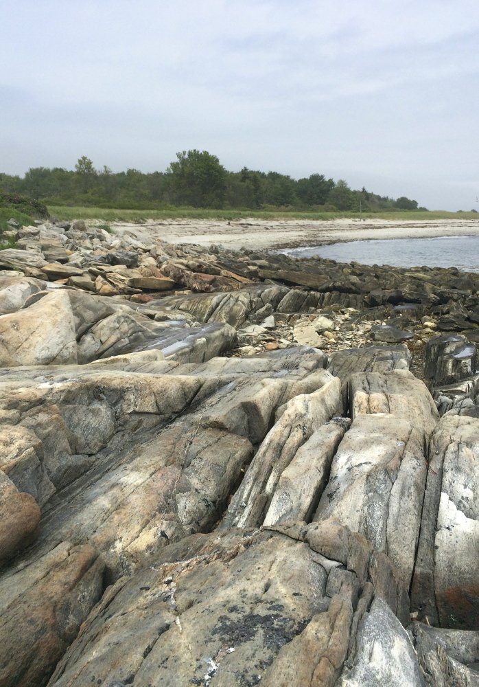 """Andrews Beach is a 3-acre state park. The locals here say on a dry day, the sand """"sings."""""""