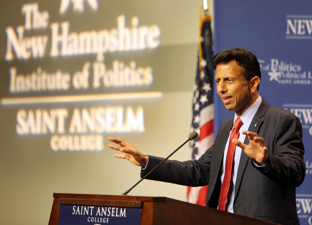 "Republican presidential candidate Bobby Jindal predicted ""an all out assault ... against Christians who disagree."""
