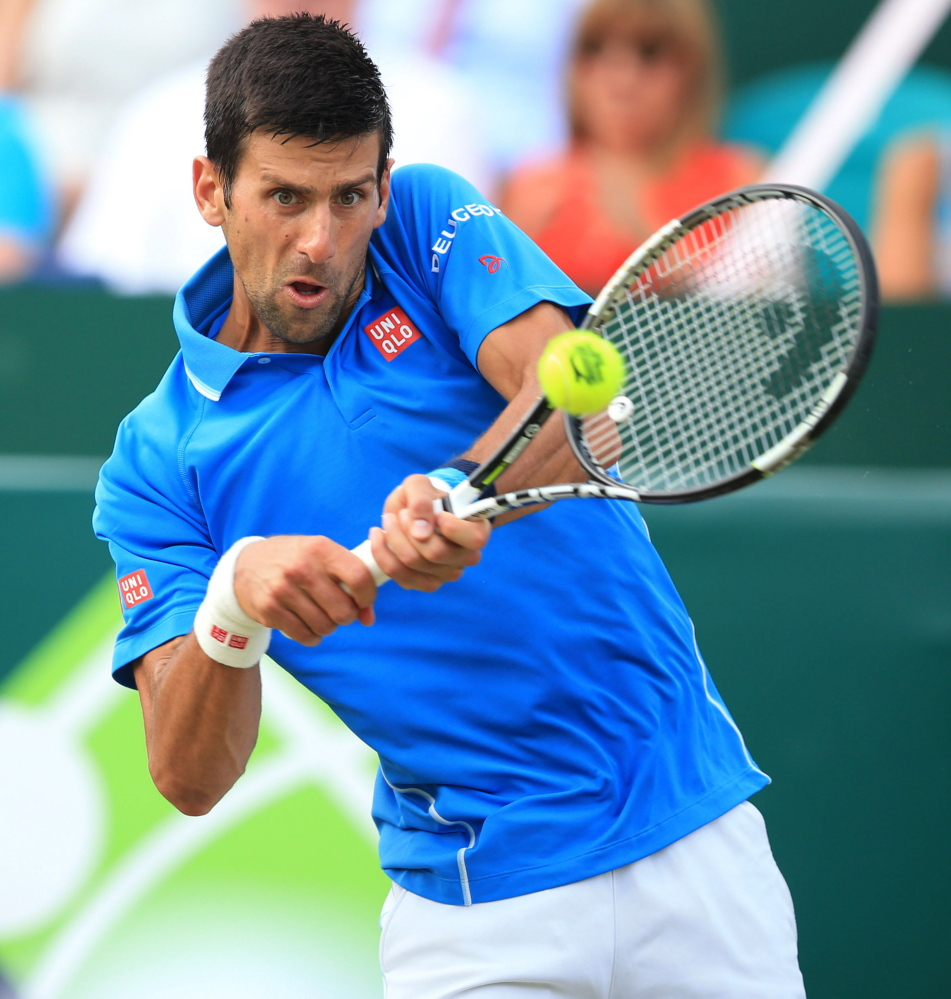Novak Djokovic faces a potential tricky start at Wimbledon, but would not meet any of his three biggest rivals — Roger Federer, Rafael Nadal and Andy Murray — until the finals.