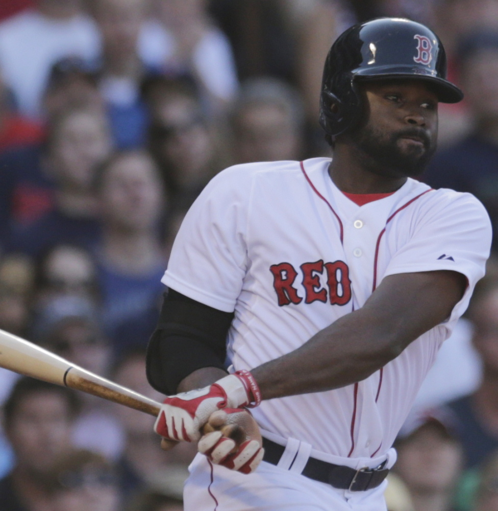 Jackie Bradley Jr. went through two tough seasons after being rushed to the majors, and only this year is putting it together.