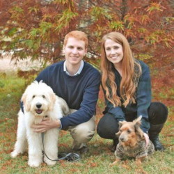 Allie Gutshall, with her boyfriend and two dogs, says Benlysta, the drug she takes for lupus, has been a miracle drug for her. The drug, however, is costly.