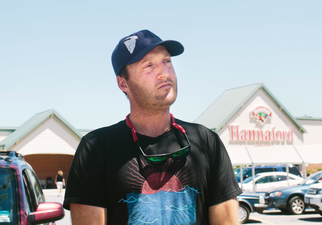 """Patrick Mosley said, """"It would be a shame to lose some more of that local flavor"""" when Hannaford becomes a smaller part of an international conglomerate. Whitney Hayward/Staff Photographer"""