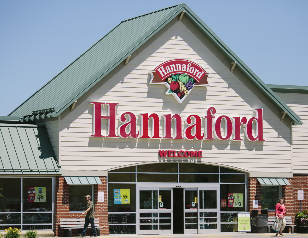 The Hannaford store in South Portland's Mill Creek shopping district. Whitney Hayward/Staff Photographer