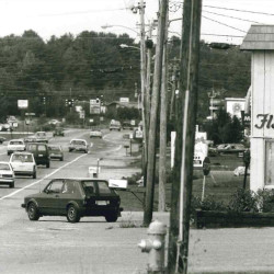 Flashback duplication of corner of Fundy and Route 1