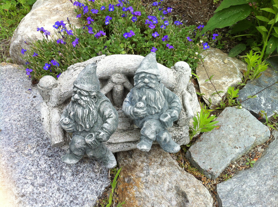 Garden Gnomes An Earthy Delight Portland Press Herald