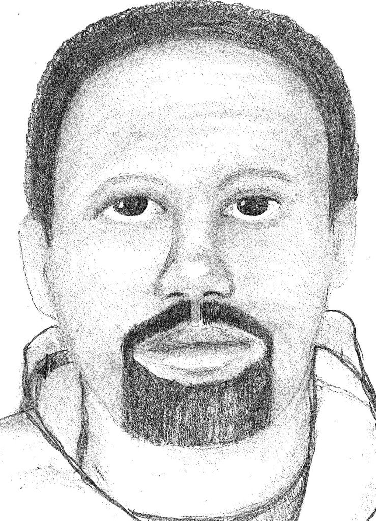 Portland police released this sketch of the man they believe tried to rob a woman with a knife June 5 on Gilman Street.