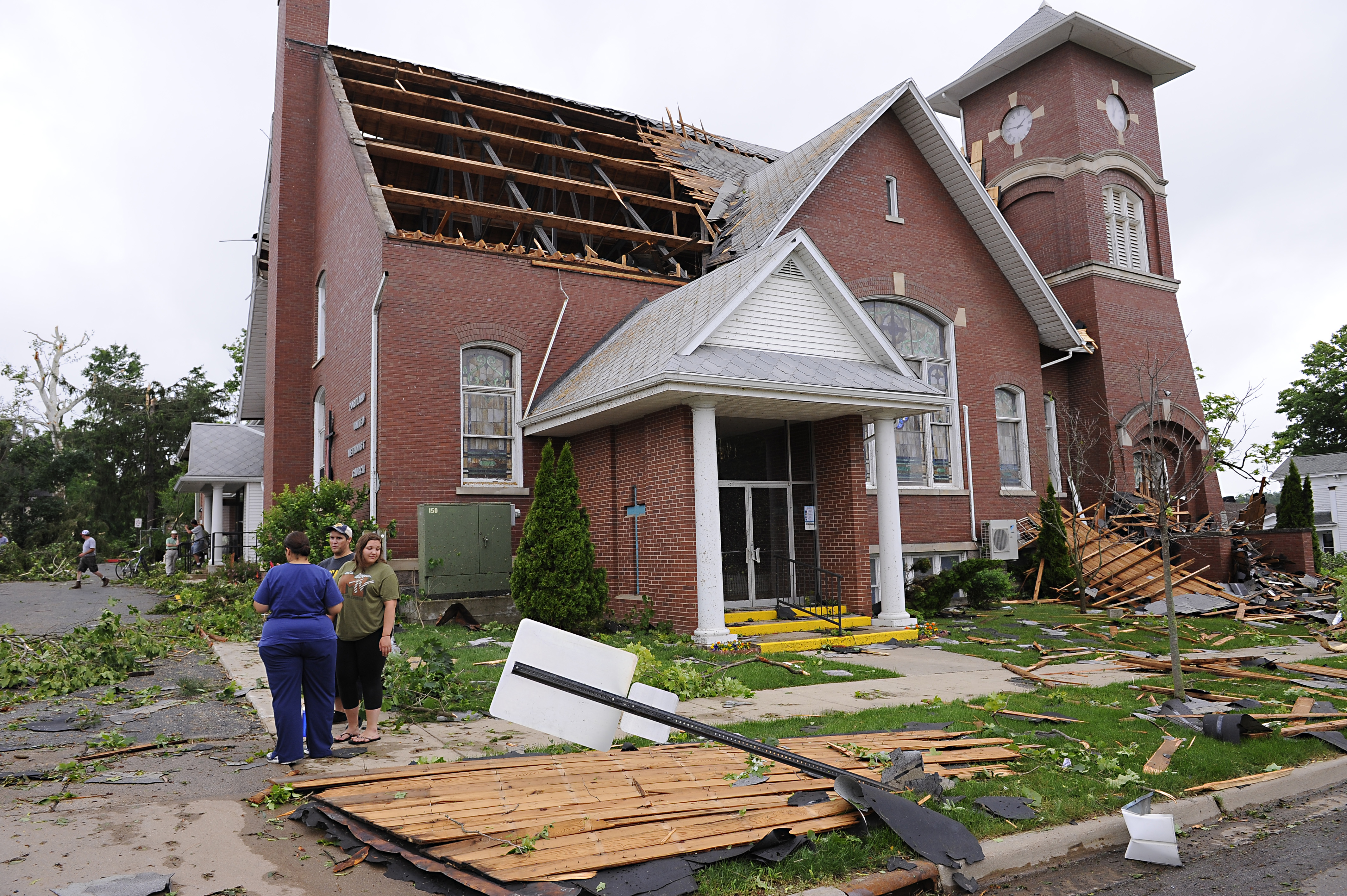Storms Tornadoes Rake Midwest The Portland Press Herald