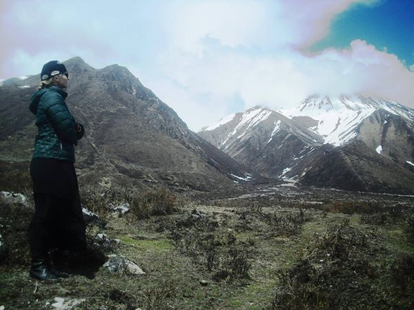 This is the last picture taken of Dawn Habash, the day before the earthquake killed thousands of people, including her, in Nepal.