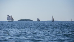 Penobscot Bay on July 3 might have looked the same 100 years ago.