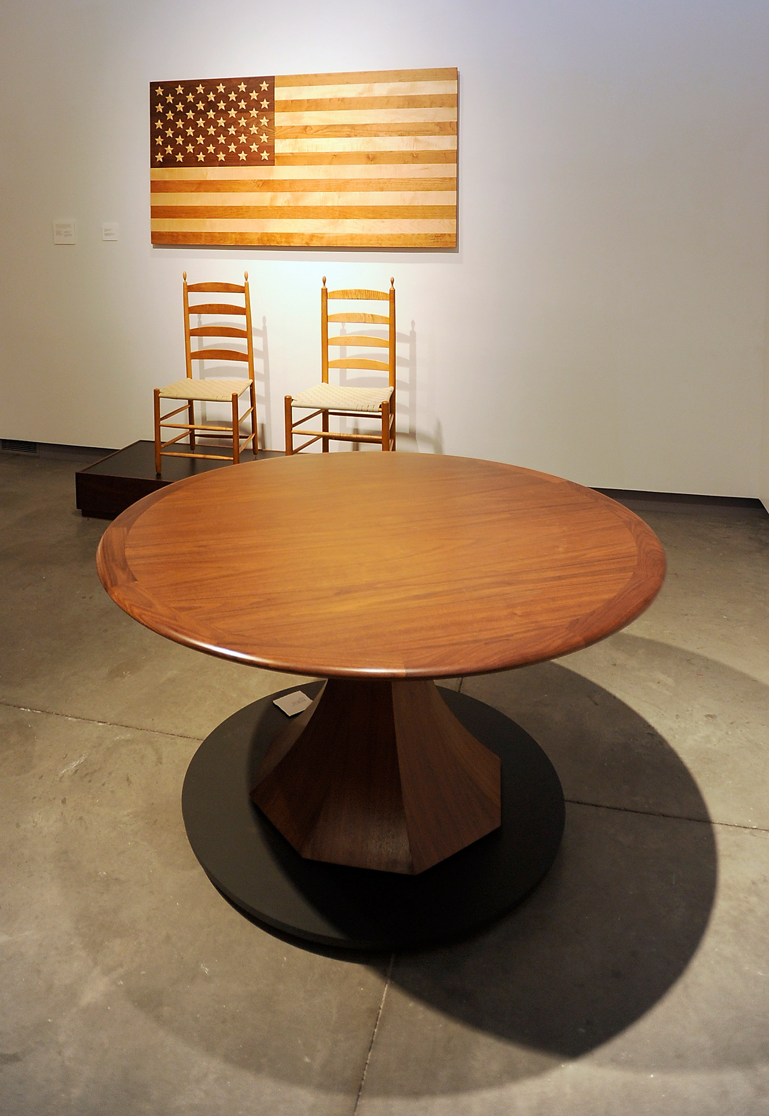 Thos Moser Creations On Display At Meca Press Herald