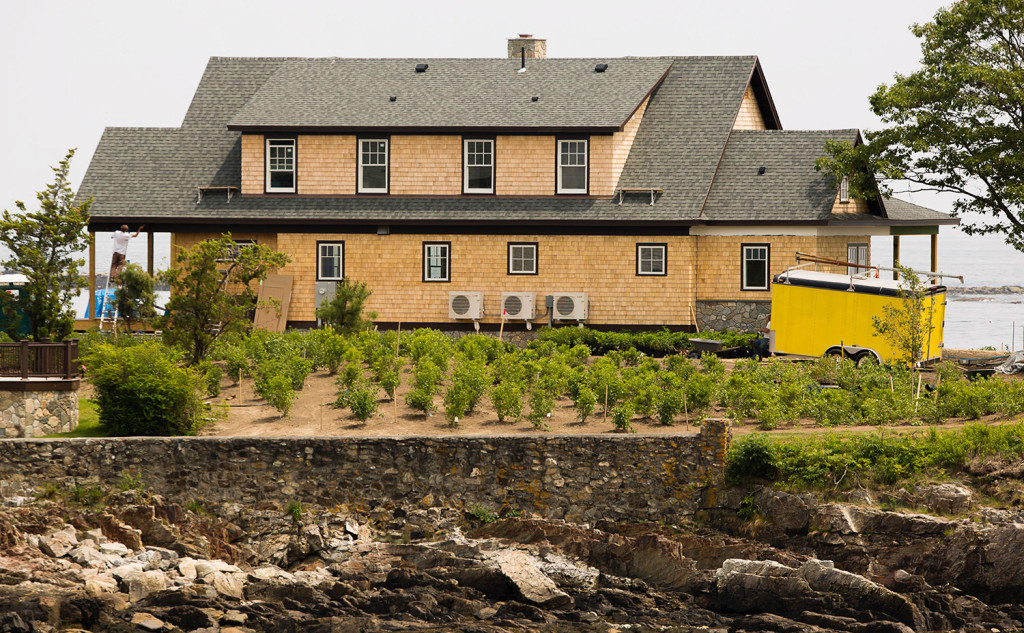 Bush Family Compound In Kennebunkport Is Campaign Gold Portland