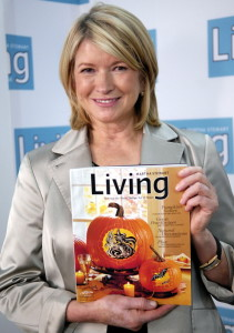 Martha Stewart's company sold recently for $353 million, less than a quarter of what the company was once worth.