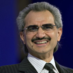Educated in California, Prince Alwaleed bin Talal was an early investor in Twitter and Apple.
