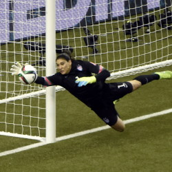 Hope Solo of the United States has allowed one goal in the World Cup and the team has gone 513 minutes without allowing another. Now, the final against Japan.