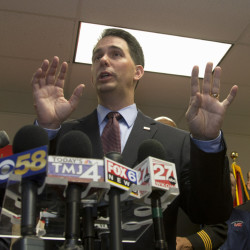 Wisconsin Gov. Scott Walker has had success in his state with numerous Republican priorities such as cutting taxes, making abortions hard to get and requiring IDs to vote.