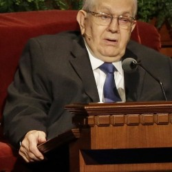 Boyd K. Packer advocated for orthodox views on Mormonism.