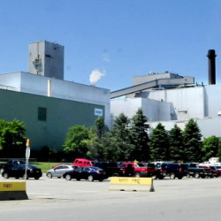 The Sappi Somerset Mill in Skowhegan on June 24.