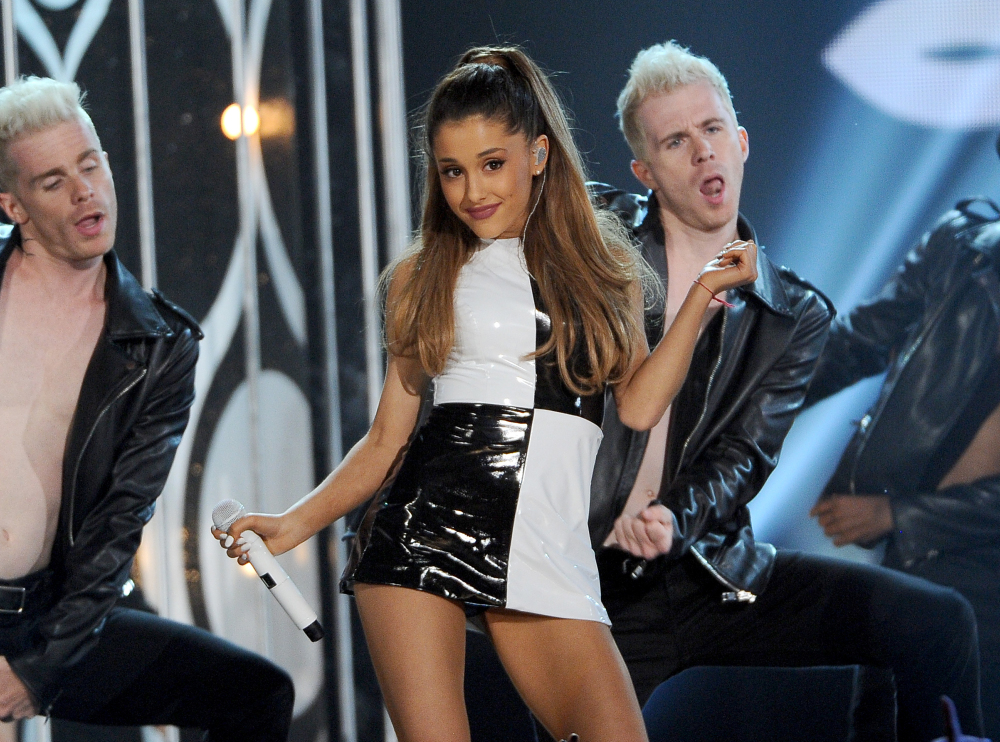 Ariana Grande, shown performing in 2014, will play a concert in Manchester, England, two years after a deadly bombing at her concert there.