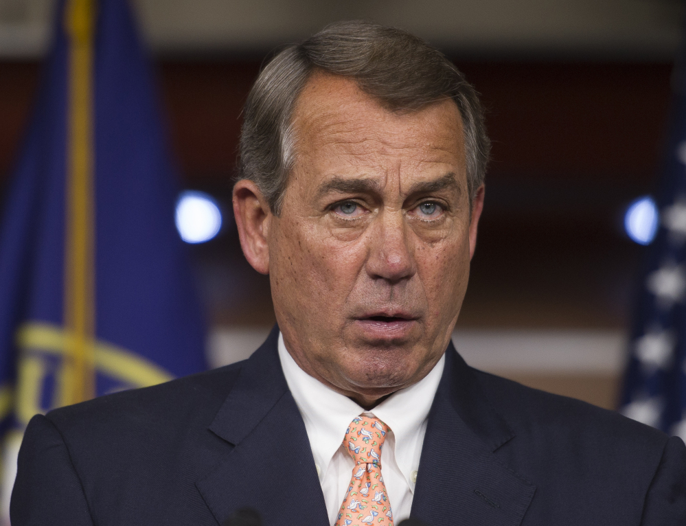 "House Speaker John Boehner called for President Obama to put an end to ""gruesome"" aborted-organ practices."