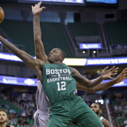 Boston's Terry Rozier showed off his quickness and confidence in the summer leagues. Rozier was the No. 16 pick in the draft.