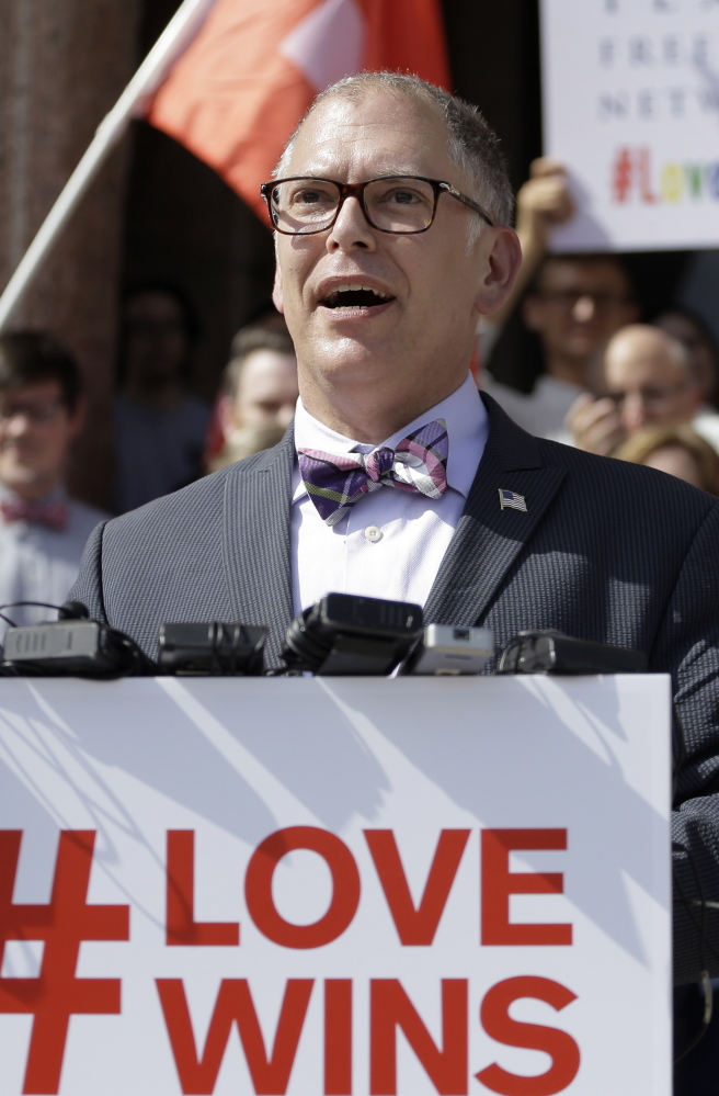 Jim Obergefell was lead plaintiff in the Supreme Court case that legalized same sex-marriage nationwide.