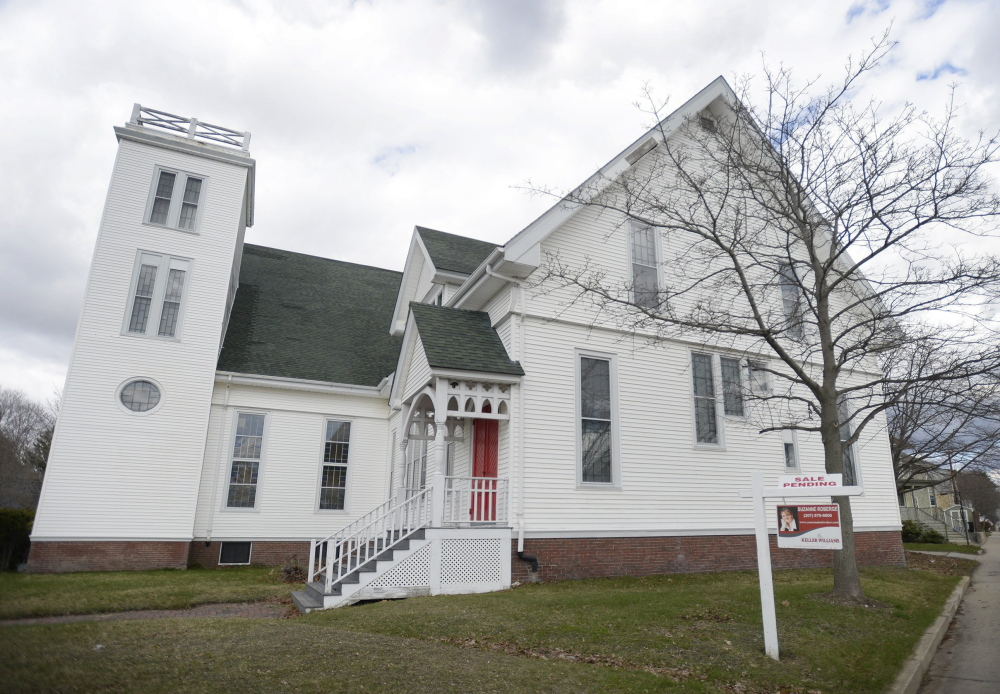 A developer aims to convert a former church near Woodfords Corner into 25 affordable housing units for people with mental illness.