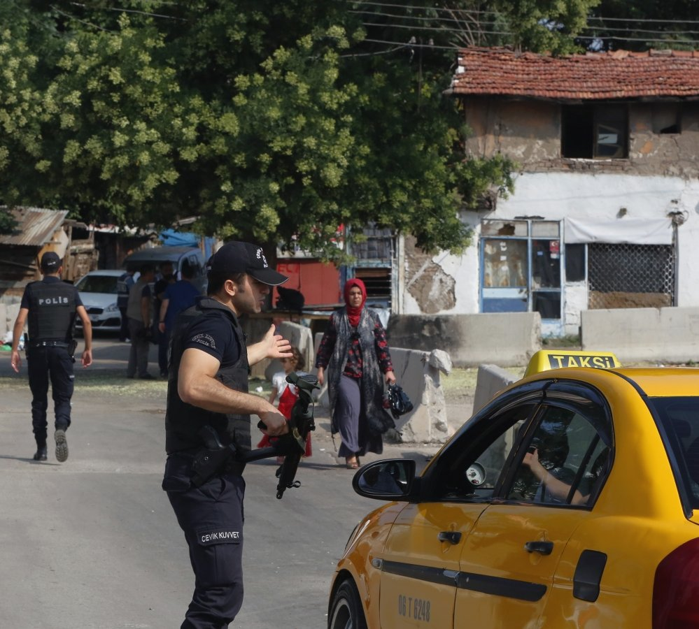 Turkish security forces detained at least 15 people in Ankrara suspected of links to the Islamic State group Monday as the country moves against the extremists.
