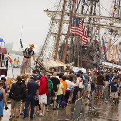 Although one weekend won't make an entire tourist season, the arrival of the tall ships had the Portland waterfront hustling and bustling.
