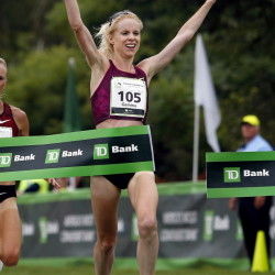 Gemma Steel used a strong finishing kick last year to just beat Shalene Flanagan, an American Olympic bronze medalist, and win the TD Beach to Beacon 10K race a year ago. Steel hasn't run seriously since May but will be back to attempt to retain her title.