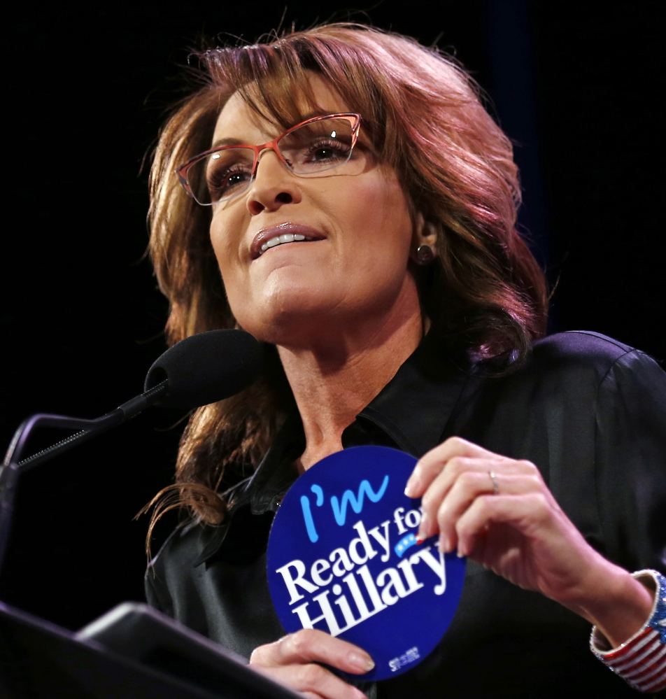 Sarah Palin even likens Donald Trump favorably to John McCain, which may shock both men.