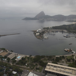 Construction is underway on a project to cap a pipe that has long spewed raw sewage into Marina da Gloria, the starting place for Olympic sailing events in Rio de Janeiro.  But water test results alarm experts and dismay athletes.