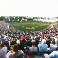 Hadlock Field was sold out for the Eastern League All-Star Game on Wednesday, July 15, 2015, a beautiful summer night.