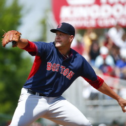 Brian Johnson, above, has become another left-handed starter brought up from Triple-A to join the Boston Red Sox. Would the team actually bring up Henry Owens as a third rookie left-hander before the season gets out of hand? The Associated Press
