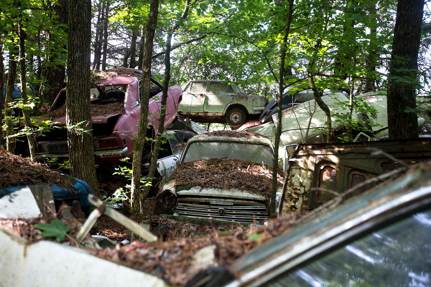 Old Car City, the world\'s largest known classic car junkyard ...