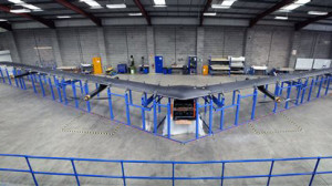 Facebook is planning test flights this year for its solar-powered drone, a high-altitude, long-endurance aircraft with a wingspan as big as a Boeing 737's. It will use lasers to send Internet signals to stations on the ground. The Associated Press