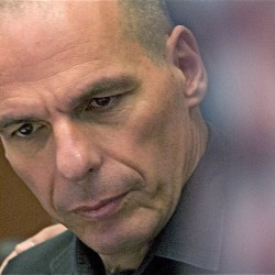 "Former Greek Finance Minister Yanis Varoufakis: ""I shall wear the creditors' loathing with pride."""