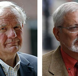 Paul Kendrick, left, and Michael Geilenfeld