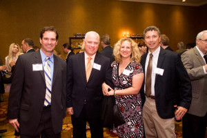 Aaron Sasseville, Dave Abel, Amy Abel and Jim Dusch Cromwell Center for Disabilities Awareness Annual Dinner & Auction.