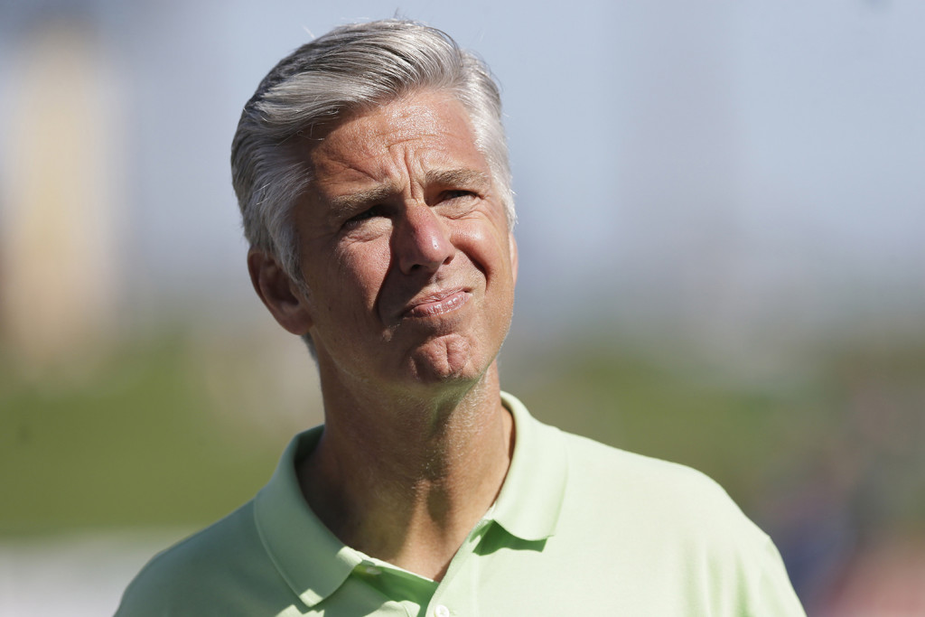 David Dombrowski, formerly president, CEO, and general manager of the Detroit Tigers, was named Red Sox president of baseball operations Tuesday. The Associated Press