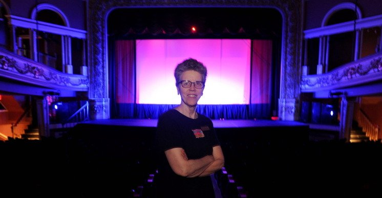 Catherine Palmer, executive director of the Waterville Opera House, will resign effective Friday.
