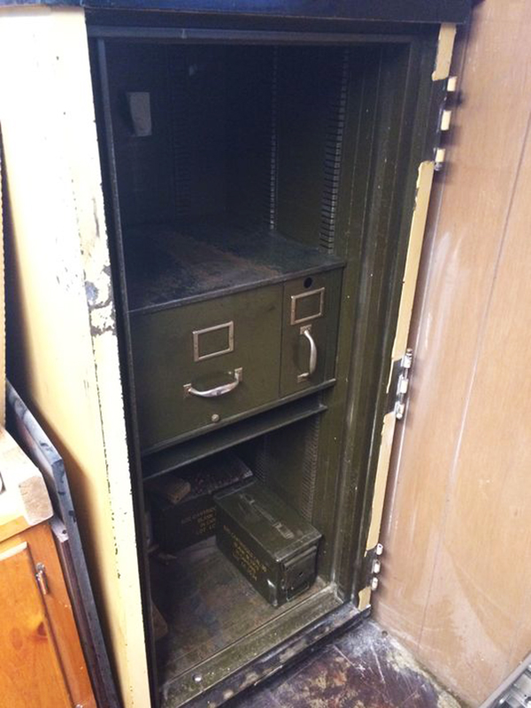 About $15,000 in cash was stolen Saturday night from American Legion Post 86 in Gray by thieves who broke into a safe. Photo courtesy of WCSH-TV