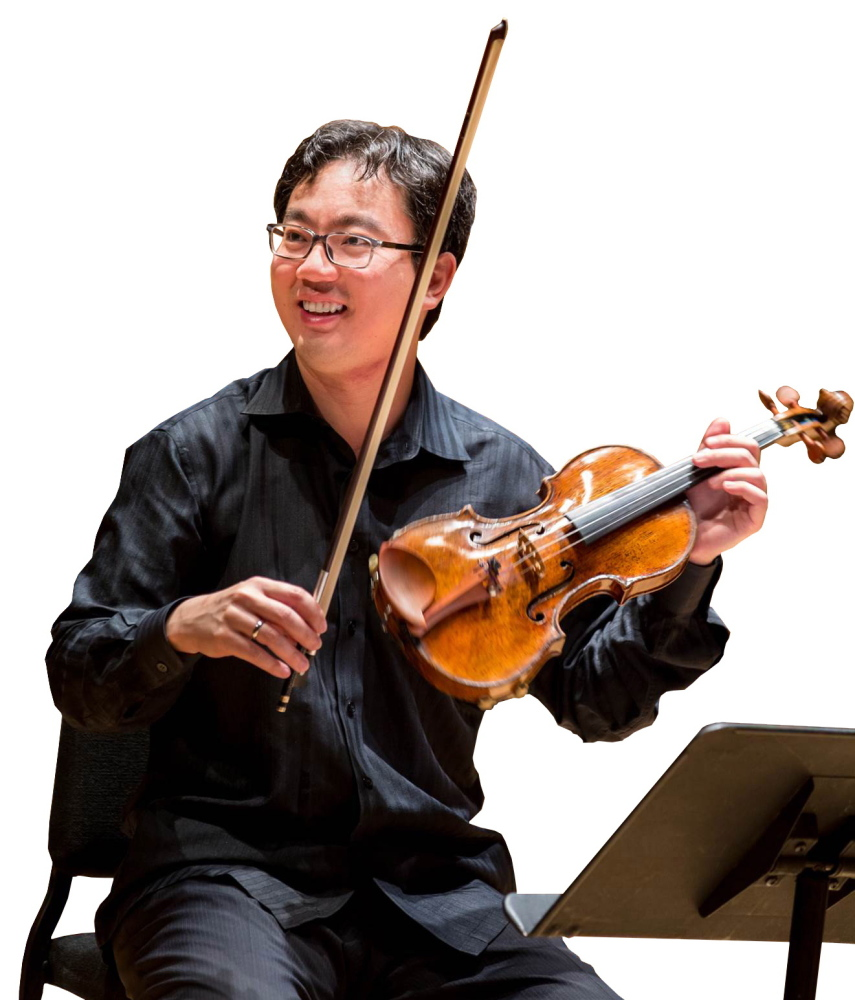 Photo by Matthea Daughtry Starting in mid-September, Frank Huang will be concertmaster of the New York Philharmonic, one of the most prestigious positions in the classical music world.