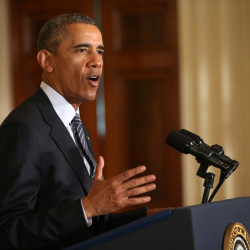 President Obama, speaking about his Clean Power Plan on Monday at the White House, says he is mandating even steeper greenhouse gas cuts from U.S. power plants than previously expected, while granting states more time and broader options to comply.