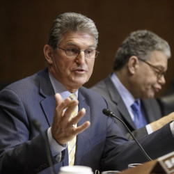 Sen. Joe Manchin, D-W.Va., says he will back a Republican bill cutting off federal aid for Planned Parenthood.