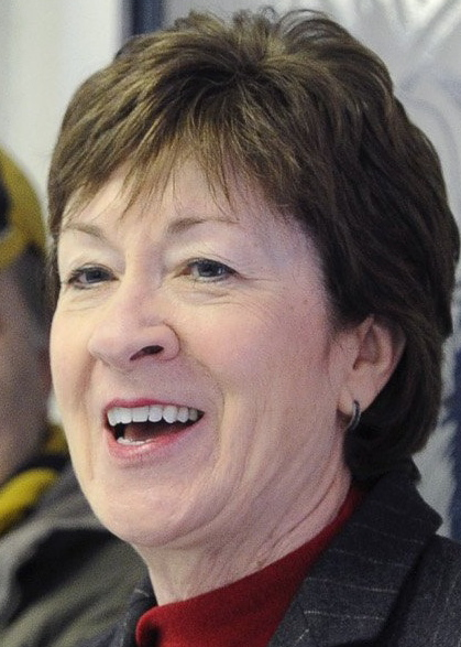 Sen. Susan Collins was not endorsed for re-election by Planned Parenthood, but generally has received measured support from women's groups.