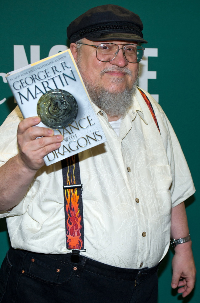 """George R.R. Martin is the author of the """"A Song of Ice and Fire"""" epic fantasy novels that were adapted by HBO for """"Game of Thrones."""""""