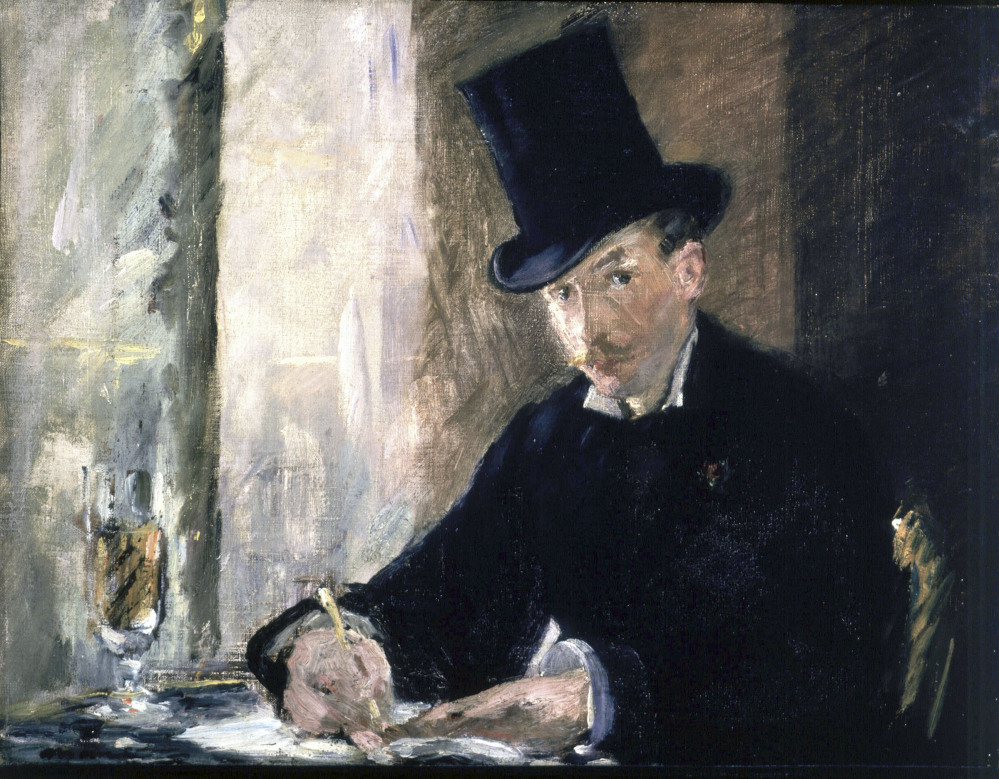 "The painting ""Chez Tortoni"" by Edouard Manet is one of the 13 works of art stolen in the early hours of March 18, 1990, from the Isabella Stewart Gardner Museum in Boston."