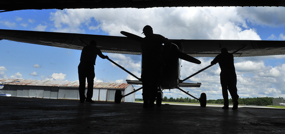 Planes and the opportunities to fly remain the biggest draw for the Civil Air Patrol, an auxiliary of the Air Force that held an open house Saturday at Augusta State Airport. Two pilots were going to use this plane to look for forest fires.