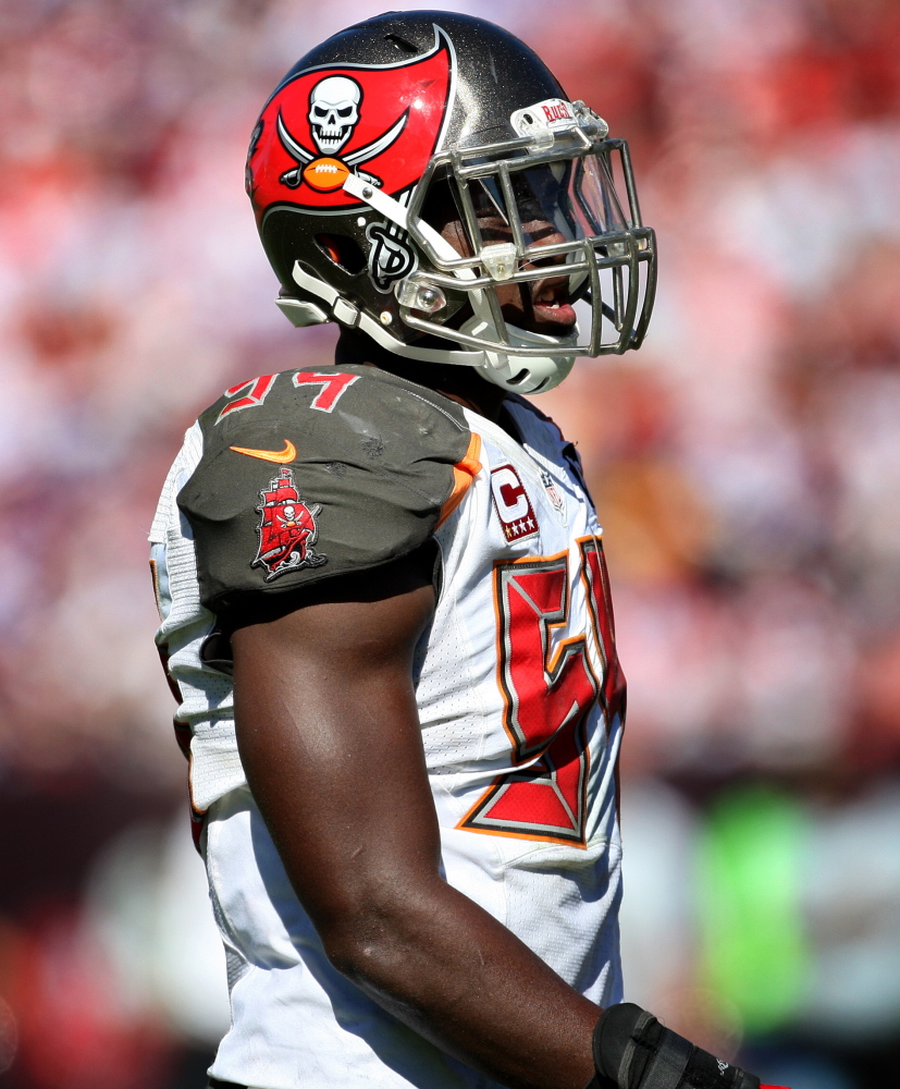Tampa Bay's Lavonte David is the only player in the NFL to have 10 or more sacks and at least six interceptions in the last three seasons. He signed a five-year extension Monday.